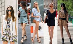 HOW TO WEAR ROMPERS THIS SUMMER