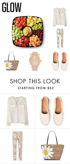 """A Strole by the Canal..Sppprrriing"" by darrenbarnet ❤ liked on Polyvore featuring MANGO, Valentino, Kate Spade and springglow"