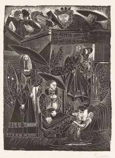 """David et Bethsabee (David and Bathsheba)"", by Pablo Picasso"