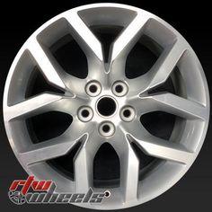 "Chevy Impala OEM wheels 2014-2017 19"""" Silver rims 5711"