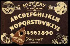 Mystery Talking board, E.S. Lowe, New York, c. 1940