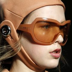 Whoah those are some serious shades for serious sun protection.