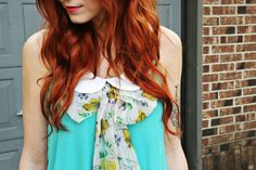 tips for keeping red hair bright. just might need this is my fire hair ever decides to make a reappearance. ;)