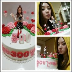 Dal Shabet's Woohee celebrates 300 days since her debut!