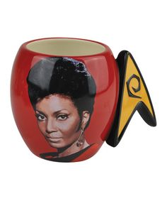 Take a look at this Star Trek Red Uhura 16-Oz. Mug by Westland Giftware on #zulily today!