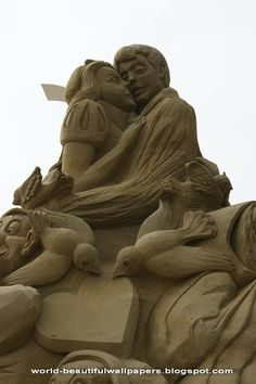 Beautiful Wallpapers: Sand Sculptures pictures
