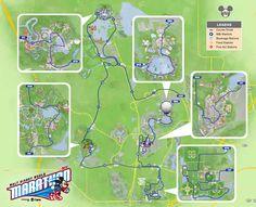 2014 Walt Disney World Marathon Course Map
