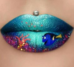 Finding Dory Lips
