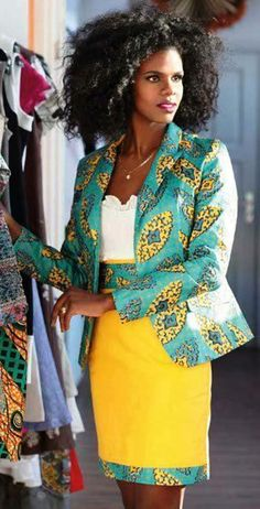 African street style fashion.