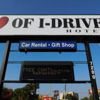 Heart of I-Drive Near Universal Orlando Universal Orlando, Car Rental, Broadway Shows, Heart, Hearts
