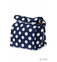 MTO Insulated lunch bag Dots by bycubalibre on Etsy