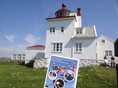 Tungenes lighthouse, serves as a fine arts and cultural centre. #regionstavanger