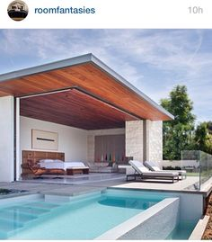 Two walls open up to the backyard! YAH! #roomfantasies #ig #housegoals