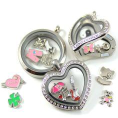 Medaillons aus Edelstahl mit Magnetverschluß! Passende Charms mit verschiedenen Motiven finden Sie ebenfalls in unserem Shop!