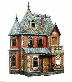 4 DOLLS HOUSE miniatura /'TOM Gates/'S BOOKS fatto a mano scala 1:12th