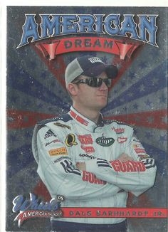2008 Press Pass Wheels Dale Earnhardt Jr. American Dream Insert Card.   #EarnhardtMemorabilia