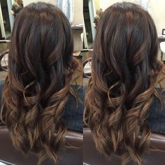 "58 aprecieri, 9 comentarii - Michael Joseph Furie Salon (@mjfsalon) pe Instagram: ""🍫 The final result of this hair transformation!! 😍 Using 8WG + 6N + clear of Redkens Shades EQ for…"""
