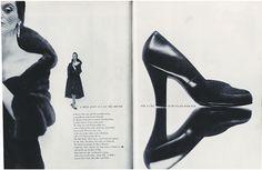 Alexey Brodovitch (Art Director) Richard Avedon (Photographer) ... editorial photographic spread