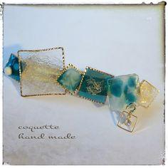 夏バレッタ~retoro baretta✨|ヘアアクセサリー|coquette(コケット)|ハンドメイド通販・販売のCreema