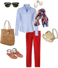 """""""Casual spring outfit"""" by larainec on Polyvore"""