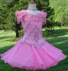 DIY pageant dress! www.glitzonline.com