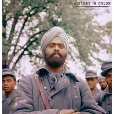History in Color Indian Soldiers of Free India Legion during world war-2. #sikhsinworldwars