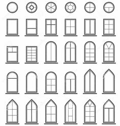 Silhouette Design Store - View Design build a house - doors Putz Houses, Fairy Houses, Silhouette Design, Building Design, Building A House, Architecture Sketchbook, Free To Use Images, House Front Design, House Doors