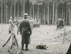 Mass execution by Einsatzgruppe