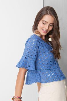 blusa laise ponto x | Dress to