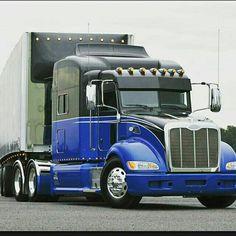 Big Rig Trucks, Tow Truck, Semi Trucks, Peterbilt 386, Big Boyz, Heavy Construction Equipment, Logging Equipment, Custom Trucks, Rigs