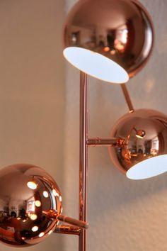 Austin floor lamp in copper £79, Made.com