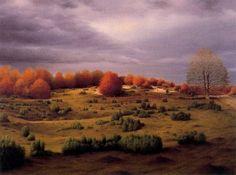 A landscape by Carlos Marcote (b. 1950)