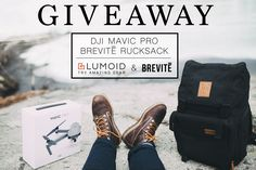 DJI Mavic Pro and a Brevite Camera Backpack giveaway! via @Lumoidit @Brevitedesign