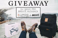 DJI Mavic Pro and a Brevite Camera Backpack giveaway! via @Lumoidit @Brevitedesign