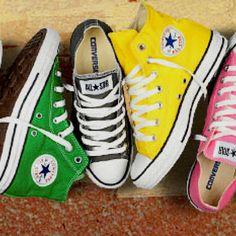 Chucks..my son wants the green ones
