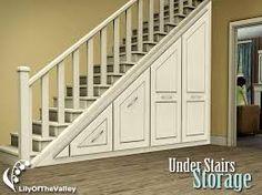 storage under stairs - Google Search