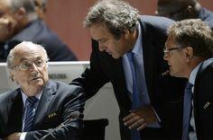 JORGE EDUARDO FONTES GARCIA - IN FOCUS: Comitê de Ética da Fifa suspende Blatter, Platini ...