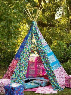Tenda colorida