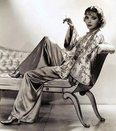 Ida Lupino - Historia de la Moda y los Tejidos: El estilo chic de los años 30