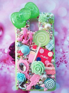 SALE Samsung Galaxy Note4 case apple green pink MAC hello kitty bo Barbie shoes