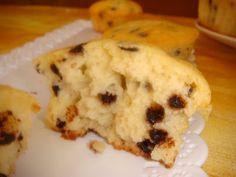 DOLCEmente SALATO: Muffins con gocce di cioccolato