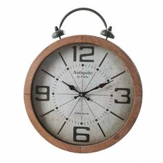Clock, Wall, Home Decor, Desk Clock, Best Watches, Tree Hut Watches, Natural Wood, Industrial Style, Watch