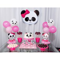 44 Ideas baby shower ides decoracion panda for 2020 Panda Themed Party, Panda Birthday Party, Panda Party, 10th Birthday, Girl Birthday, Birthday Parties, Birthday Party Decorations, Party Themes, Panda Baby Showers