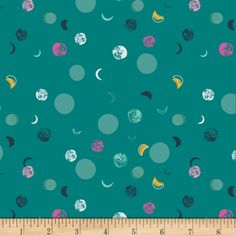 Art Gallery Lugu Lumina Dusk from Designed by Jessica Swift for Art Gallery Fabrics, this super soft an Teal Green, Green Orchid, Yellow, Beautiful Rabbit, Alcohol Free Toner, Shades Of Teal, Fabric Rug, What Is Need, Art Gallery Fabrics