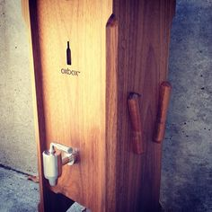Red wine season is GO! Oxbox wine preservation system preserves your favorite bottle of wine so you can enjoy one glass at a time while the rest stays fresh. Handcrafted in the Pacific Northwest with sustainably harvested American black walnut. It's a whole new take on boxed wine. $695