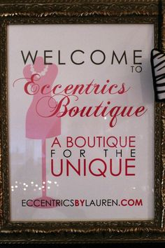 Visit us in Carterville, Illinois  http://www.eccentricsbylauren.com or Facebook at www.facebook.com/EccentricsByLauren