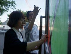2015/6/13掲載 「東海大学札幌キャンパス」のデザイン文化学科の方で作られている「キットパス研究会」の作品 https://www.facebook.com/kitpas2005 #kitpas #キットパス