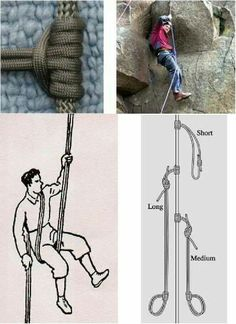 Paracord rapelling