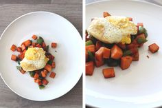 Fall breakfast idea! A sweet potato hash recipe that is perfect for a fall brunch. AND paleo friendly!