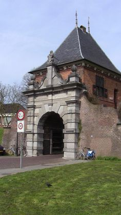 The ancient gatway of Stolwijk, Holland